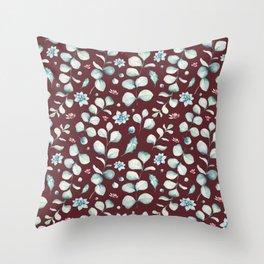 Holidays pattern 4 Throw Pillow