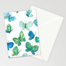 Butterflies in Flight Stationery Cards