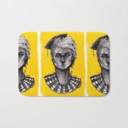Seen in Yellow Bath Mat