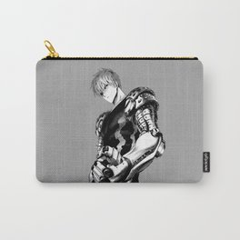 Genos Black and white Carry-All Pouch