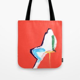 sitting figure Tote Bag