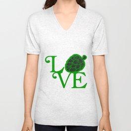 love  - I love beer Unisex V-Neck