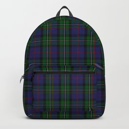 McPhail Tartan with Clan Name Backpack