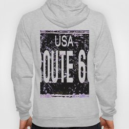 Route 66 Retro Signs Hoody