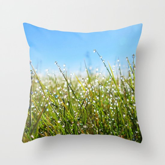 Melting Moments Throw Pillow