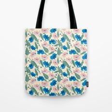 Botanical White Tote Bag