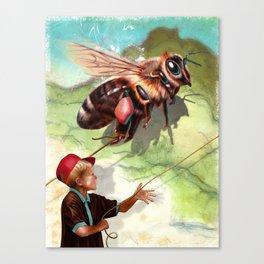 BumbleFreeze Canvas Print
