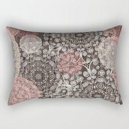 HAPPY GO LUCKY - BOHO WOOD Rectangular Pillow
