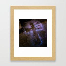 At the Cross Framed Art Print