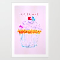 Cupcake until cupcake Art Print