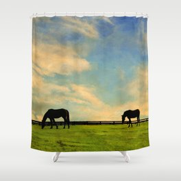 Sunrise Graze Shower Curtain