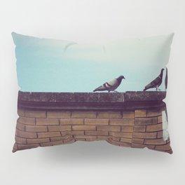 Birds Up Top Pillow Sham
