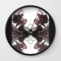haikyuu Wall Clocks featuring Sketchy Kuroo by kanda3egle