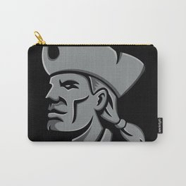 Patriot Head Metallic Icon Carry-All Pouch