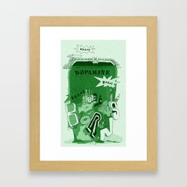 Dopamine Framed Art Print