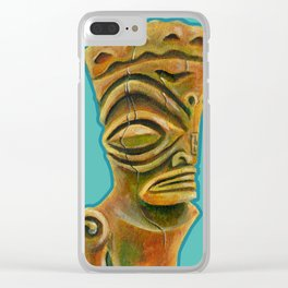Marquesan East Clear iPhone Case