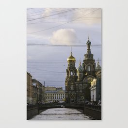 Saint Petersburg Russia Canvas Print