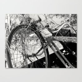 Another Bicycle Canvas Print