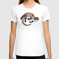 otter T-shirts featuring Otter by Jemma Salume
