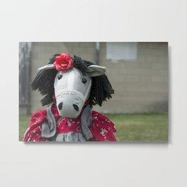 Little Horse on the Prairie Metal Print