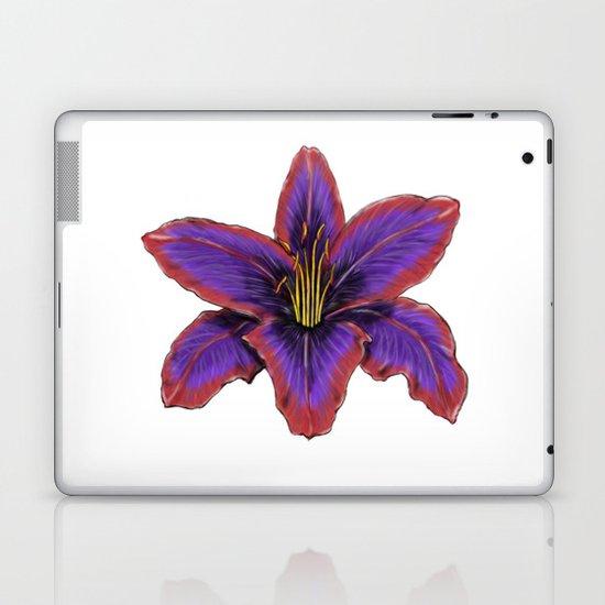 Stylized Lily Laptop & iPad Skin