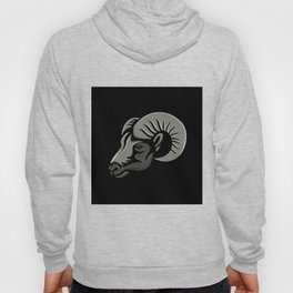 Bighorn Sheep Metallic Icon Hoody