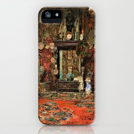 Mariano Fortuny's Studio In Rome - Digital Remastered Edition iPhone Case