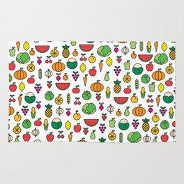 fruits & vegetables Rug