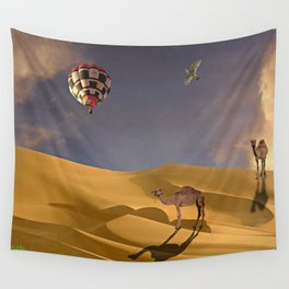 African Adventure Wall Tapestry