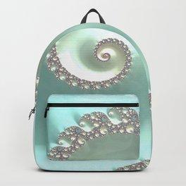 Fractal Ocean Wave Backpack