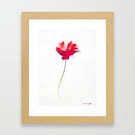 Beautiful Fire Framed Art Print