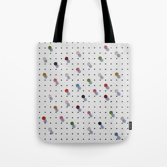 Pin Points Tote Bag