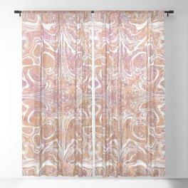 Early Morning Dreams Sheer Curtain