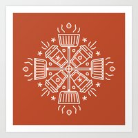 Shovelflake 5: Hot Cocoa Art Print