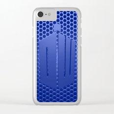 Tardis Logo Clear iPhone Case