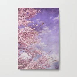Dream of Pink Blossoms Metal Print