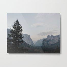 Tunnel View Yosemite Metal Print