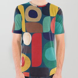 Miles and miles All Over Graphic Tee