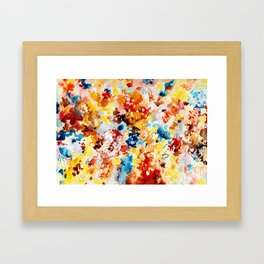 Cool Intense Framed Art Print