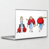 boxing Laptop & iPad Skins featuring Boxing Girl by Camila Rodrigues