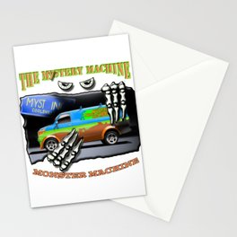 The Mystery Machine Stationery Cards