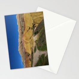 Colorful Badlands Landscape Stationery Cards