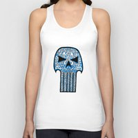 punisher Tank Tops featuring Celtic Punisher by ronnie mcneil