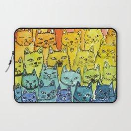 the pride cat rainbow  squad Laptop Sleeve