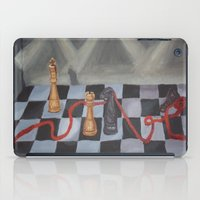 chess iPad Cases featuring Chess by Lark Nouveau Studio