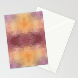 """""""Flowers bouquet"""" triangles design Stationery Cards"""