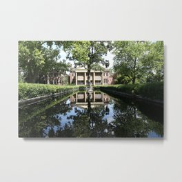 Cantigny Pool Metal Print