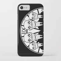 buffy the vampire slayer iPhone & iPod Cases featuring Buffy the Vampire Slayer -- The Gentlemen by BovaArt