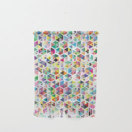 Cuben Colour Craze Wall Hanging