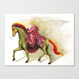 Horsemen Sleepy  Hollow  Canvas Print